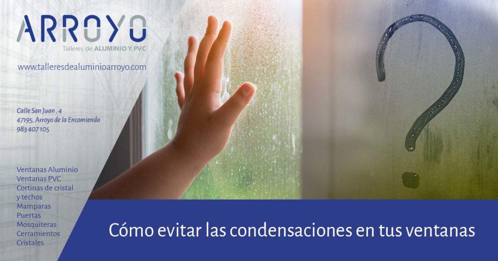 cómo evitar condensaciones en ventanas