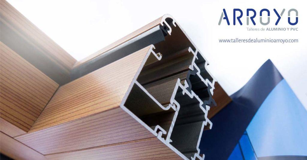 aluminio lacado o anodizado ventanas