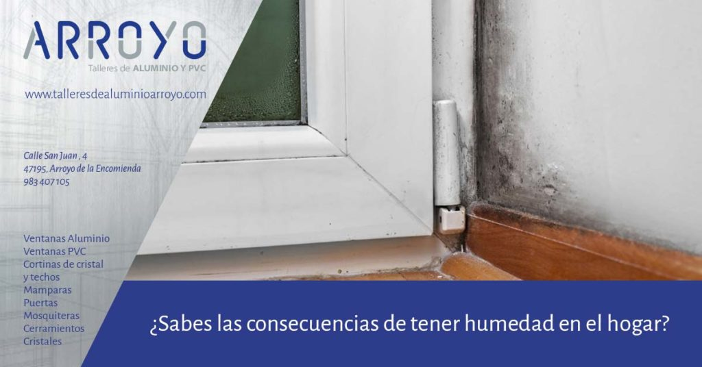 consecuencias de la humedad en casa