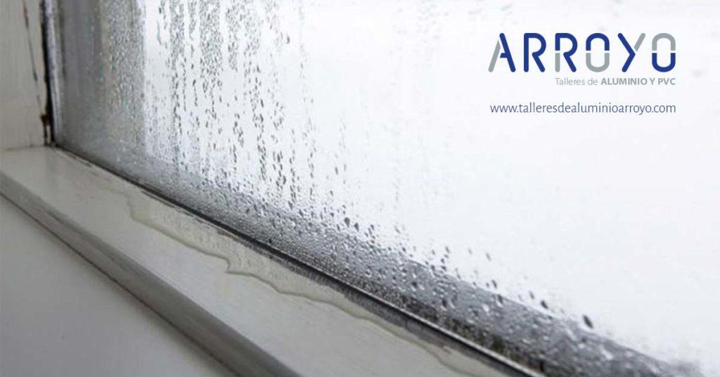 humedades en ventanas
