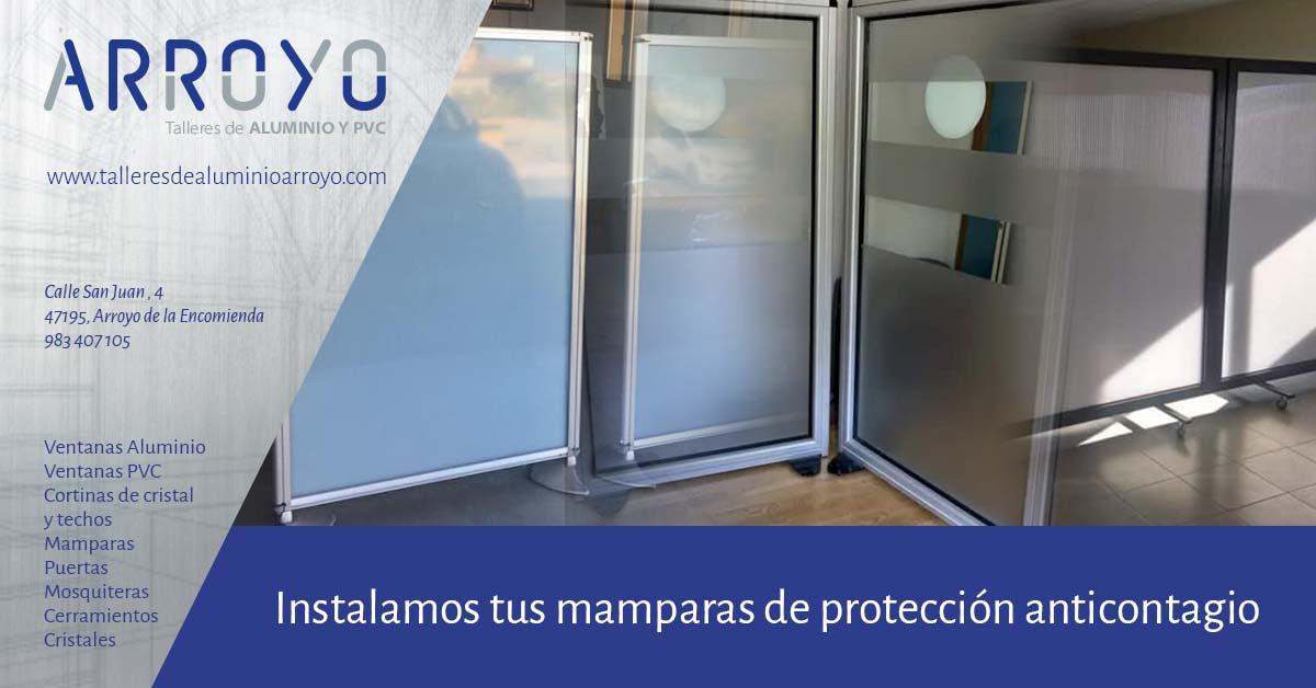 Mamparas de protección para comercios