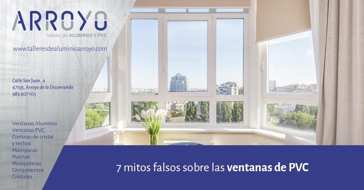7 mitos sobre las ventanas de PVC